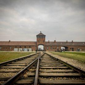 Concentratiekamp Auschwitz-Birkenau (Polen)