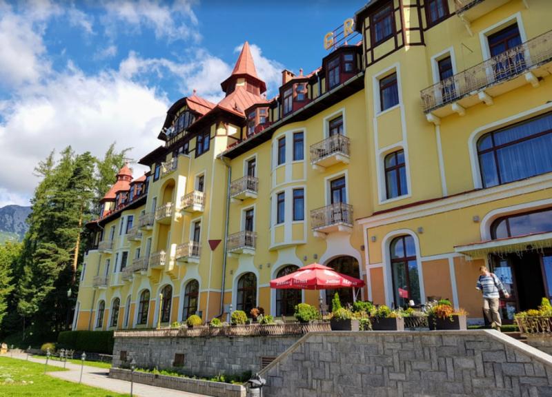 GrandHotel Praha Tratranska Lomnica