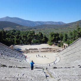 Theater van Epidaurus (Griekenland)
