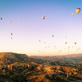 Ballonvaart (Cappadocië, Turkije)